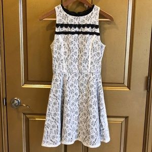 Bloomingdales White Lace Brunch Dress